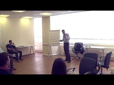 Тренинг «Работа с возражениями» ведет Виталий Новиков в компании Корус Консалтинг